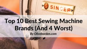 best and worst sewing machine brands